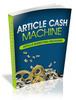 Thumbnail Amazing Article Marketing -Article Cash Machine
