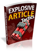 Thumbnail Amazing Explosive Article Tactics