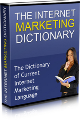 Product picture Internet Marketing Dictionary
