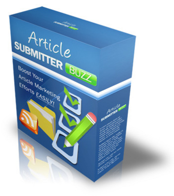 Product picture New!Article Submitter Buzz with Rebrander
