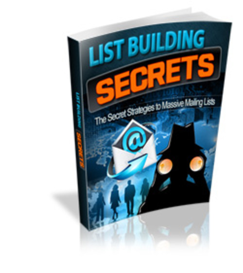 Product picture List Building Secret